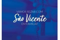 Vamos rezar com São Vicente em Família?